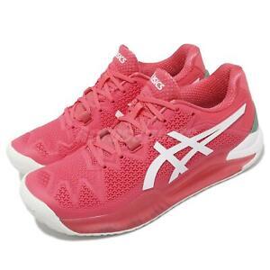 Asics Gel-Resolution 8 Gael Monfils Pink White Women Tennis Shoes 1042A072-702