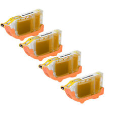 4pk BCI-6Y BCI-6 BCI6 YELLOW Ink Printer Cartridge for Canon BJC-8200 i560 i860