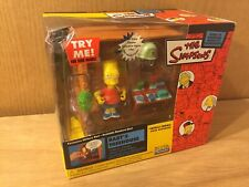 The Simpsons Intelli-tronic World of Springfield Bart's Treehouse FIGURE playset