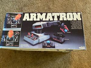 Vintage TOMY ARMATRON ROBOTIC ARM #5100 WORKS,  Original Box RARE!
