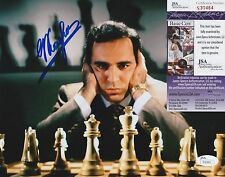 Garry Kasparov In-Person Signed 8x10 Photo w/ JSA COA #S30464 Chess Legend