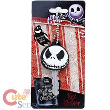 Nightmare Before Christmas Jack Face Key Cap PVC Key Holder
