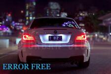 BMW E46 F30 F31 F10 E90 E91 E60 XENON WHITE LED NUMBER PLATE Light Bulbs CANBUS