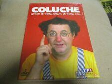 """COFFRET 2 DVD NEUF """"COLUCHE - QUAND JE SERAI GRAND, JE SERAI CON"""" sketches"""