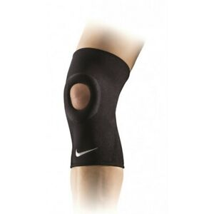 Nike Pro Open Patella Knee Sleeve Support Brace Injury Compression