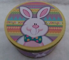 Bow Tie Bunny Tin Music Box - Peter Cottontail