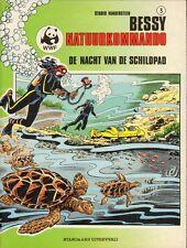 BESSY NATUURKOMMANDO 03 -NACHT VAN DE SCHILDPAD  - STUDIO VANDERSTEEN