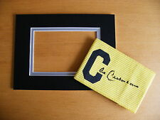 FRANZ BECKENBAUER SIGNED AUTOGRAPH CAPTAINS ARMBAND & free mount display GERMANY