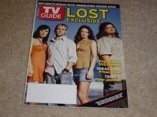 Lost * Yunjin Kim * Dominic Monaghan * Evangeline Lilly 2005 Tv Guide Magazine