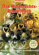 das Weihnachts-bastelbuch Window Color Papier Servietten-technik Oz