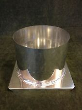 "6"" x 4 1/2"" ROUND PILLAR METAL CANDLE MOLD NEW"