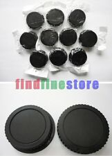 10x Rear lens + Body cap cover for Canon EOS EF EF-S DSLR Wholesale lots 10 pcs
