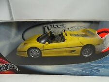 1:18 Hot Wheels Ferrari F50 Spider Amarillo - Rareza§