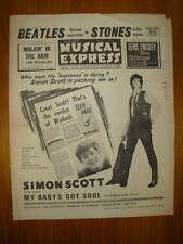 NME #933 1964 NOV 27 SIMON SCOTT BEATLES ROLLING STONES