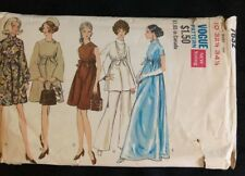 Vintage Vogue Maternity Evening Dress Or Street Lengths Pattern No. 7632. B32.5
