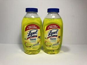 Lysol Clean Fresh Multi Surface Cleaner, Lemon & Sunflower - 10.75oz Lot of 2