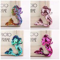 Jewelry Car Sequins Keychain Handbag Pendant Mermaid Keyring Bag Accessories
