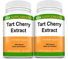 2x Tart Cherry Extract 900mg Antioxidant Anthocyanins Gout Joint Pain Arthritis