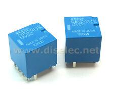2 relés G8ND-2UK-12VDC OMRON; G8ND2UK12VDC - Nuevos de fábrica - RENAULT, BMW