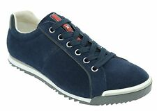 Prada Sneakers Trainers Shoes Suede Blue Size 9US/8UK New