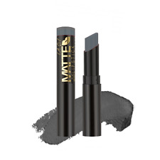 "1x  LA L.A.Girl Matte Flat Velvet Lipstick - ""Poetic"" Shade ( Grey)"