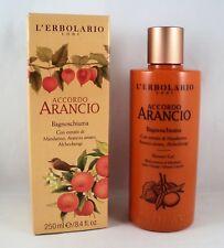 L'Erbolario Schaumbad Dusche accordo arancio 250 ml Waschmittel Körper Zitrus