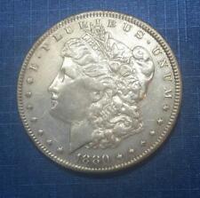 Authentic U S Morgan Silver Dollar 1880-P (1878-1921)