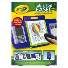 Crayola Tabletop Easel~3 Different Drawing Surfaces~New In Box