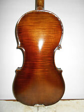Nice Vintage Old Antique Early/Mid 1900s 1 Pc Back Full Size Violin - Nr