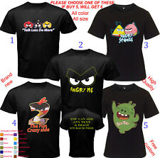 Shirt Adult S-5XL Youth Babies Toddler Alice Cooper angry birds Populer Quotes