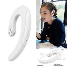 Wireless Earphone Earpiece On-Ear Headset with Mic for iPhone Samsung S20 S10