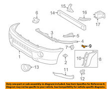 TOYOTA OEM 05-17 Tacoma FRONT BUMPER-Cover Extension Retainer 7539204010