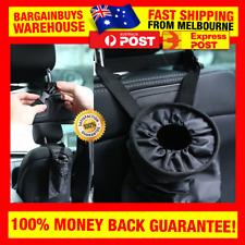 Car Back Seat Headrest Rubbish Bag Portable Car Bin Trash & Garbage Bag