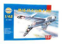 Modellbau Kunststoff Modellbausatz SMER Militär 1:48 Flugzeug MIG 17 F-LiM 6 bis
