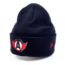 HC Avtomobilist Ekaterenburg KHL beanie hat. Russian hockey, black