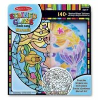 Melissa and Doug 19292 - Stained Glass Made Easy - Mermaid - NEW!!