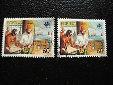 PORTUGAL - timbre yvert et tellier n° 1752 x2 obl (A28) stamp (O)
