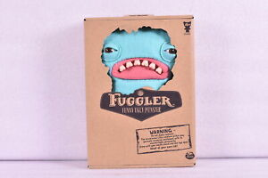"""Fuggler 9"""" Funny Ugly Monster Wide Eyed Weirdo Collectible Plush, Teal"""