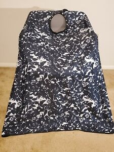 """Barber hair cutting and styling cape 55""""X60"""" Multi-Color"""