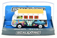 Scalextric Atlantis Volkswagen Camper Van T1b DPR W/ Lights 1/32 Slot Car C3891