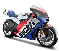 MAISTO 32226Y 32226B DUCATI DESMOSEDICI model bikes yellow or blue 2011 1:6th