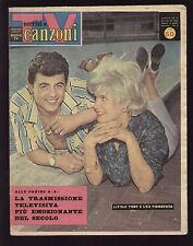 SORRISI 17/1961 LITTLE TONY CAROL WHITE GAGARIN MARILYN MONROE LINDYS SISTERS