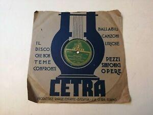 78 Giri N. Pizzi DESIDERIO Duo Fasano PRIMO AMORE Cetra DC 5338 Angelini 1951