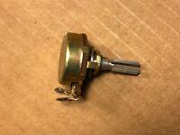 Vintage Noble 5k ohm Guitar Potentiometers 1968 Audio Taper Pot Ribbed Shaft