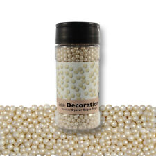 PME Cake Cup Cake Icing Decoration Sugar Pearls Pearlized Oyster (100g / 3.5 oz)