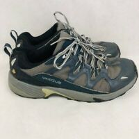 Vasque Mens Athletic Shoes Gray Blue Lace Up Low Top Sneakers 10 M