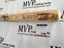 ADRIAN GONZALEZ Autograph Rawlings Pro Baseball Bat NEW YORK METS PSA/DNA