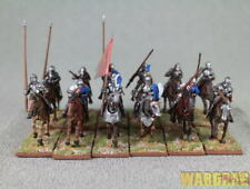28mm WDS painted WR 40 Mounted Men at Arms 1450-1500 (12 mounted figures) r55