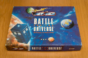 Doctor Who Battle for the Universe board game complete from 1989