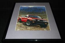 1987 Mazda SE-5 4x4 Framed 11x14 ORIGINAL Vintage Advertisement
